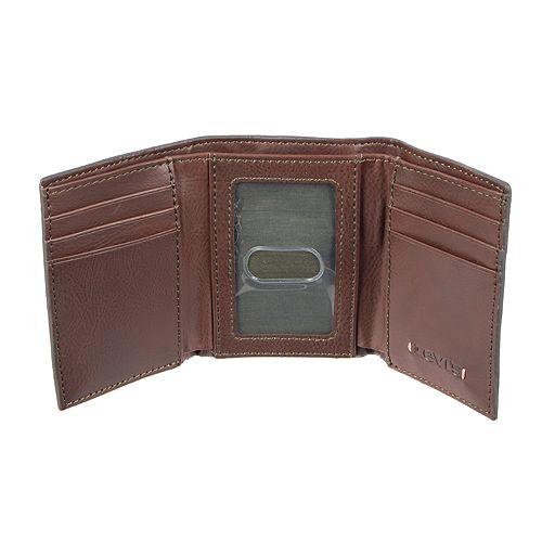 Men's Levi's RFID-Blocking Trifold Wallet