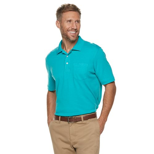 63d653acf8 Men's Croft & Barrow® Easy-Care Extra-Soft Pocket Polo