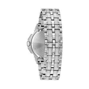 Bulova Men's Octava Crystal Stainless Steel Watch - 96C134