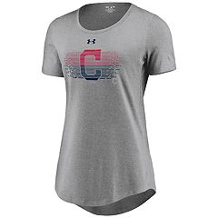 Women's Under Armour Cleveland Indians Caught Looking Tee