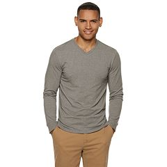 Men's SONOMA Goods for Life™ Slim-Fit Supersoft V-Neck Tee
