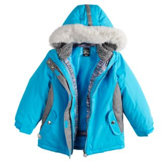 Girls 4-6x ZeroXposur Carol 3-in-1 Systems Jacket