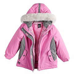 ea3190324c8b Girls Hooded Active Kids Clothing