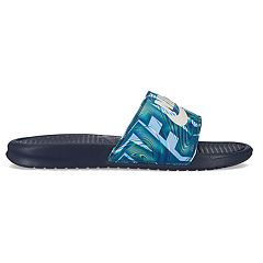 fe2782a8a Nike Benassi JDI Men s Slide Sandals. Obsidian Summit White Anthracite Black.  sale.  24.99