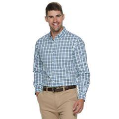 Men's Croft & Barrow® Classic-Fit Patterned Button-Down Shirt