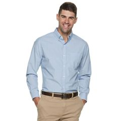 Men's Croft & Barrow® Classic-Fit Patterned Button-Down Shirt