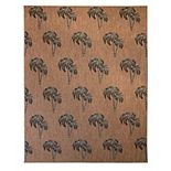 Gertmenian Avenue 33 Paseo Palm Trees Indoor Outdoor Rug