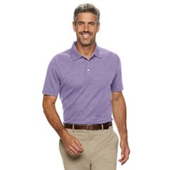 Men's Croft & Barrow® Easy Care Interlock Polo