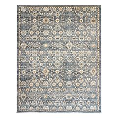 Gertmenian Avenue 33 Darien Travis Framed Floral Rug