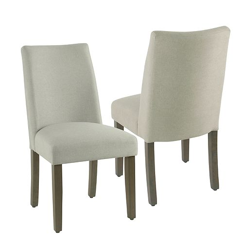 HomePop Marin Curved Dining Chair 2-piece Set