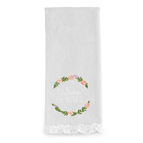 Celebrate Together Welcome Spring Hand Towel