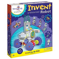Creativity for Kids Invent A Motorized Robot