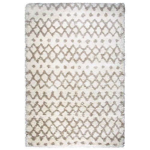 Rizzy Home Amelia Adana Collection Geometric Rug