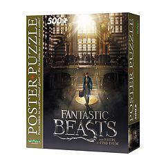 Wrebbit Fantastic Beasts 500-Piece Poster Puzzle