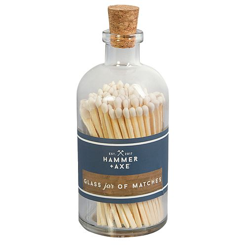 Hammer & Axe Jar of Matches 120-piece Set