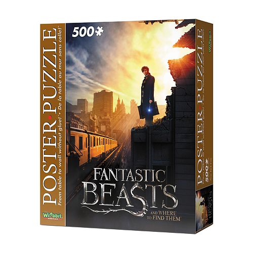 Wrebbit Fantastic Beasts New York City 500-Piece Poster Puzzle