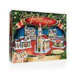 Wrebbit The Christmas Village 3D Panel Puzzle
