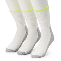 Men's Job Site 3-pack Comfort Top Work Wear Crew Socks