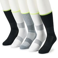 Men's Job Site 5-pack Work Wear Performance Crew Socks
