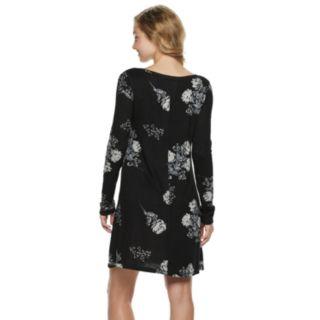 Juniors' SO® Floral Print Sheath Dress