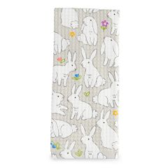 Celebrate Easter Together Bunnies Printed Hand Towel