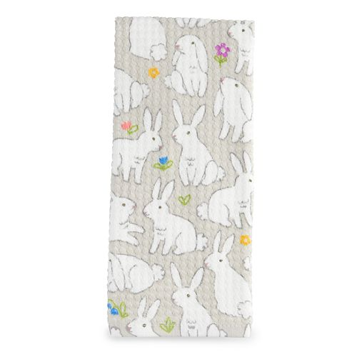 Bunnies Hand Towel