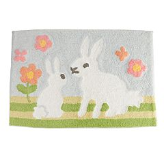 Celebrate Together Bunny Buddies Bath Rug