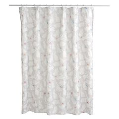 Celebrate Together Bunnies Shower Curtain