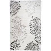 Rizzy Home Ariana Adana Collection Abstract Floral Rug