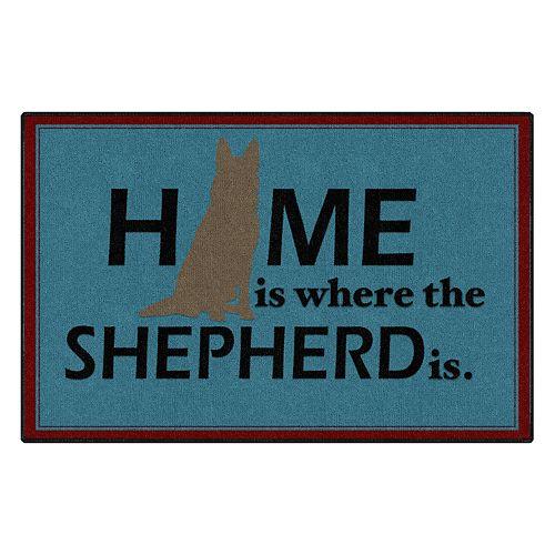 Brumlow Mills Home is Where the Shepherd is Rug