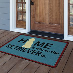 Brumlow Mills Home is Where the Retriever is Rug