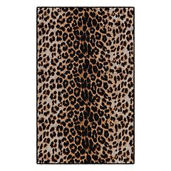 Brumlow Mills Leopard Print Rug