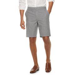Men's Marc Anthony Slim-Fit 10-inch Linen-Blend Shorts
