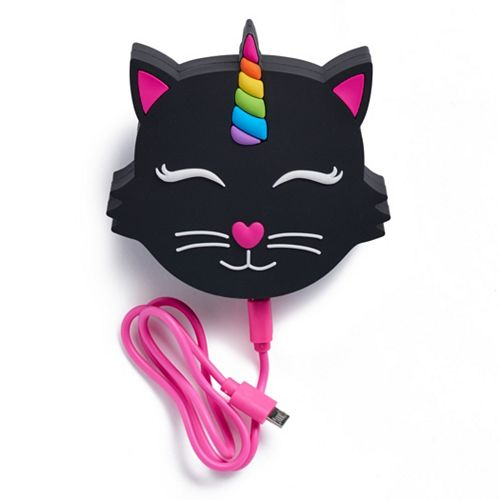 Black Cat Rechargeable Power Bank