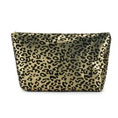 Juicy Couture Cheetah Print Cosmetic Bag