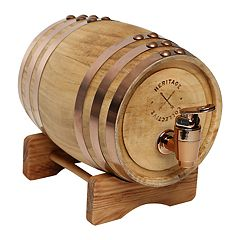 Hammer and Axe Whiskey Barrel