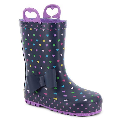 Western Chief Heart Parade Girls' Waterproof Rain Boots