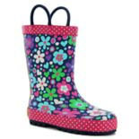 Western Chief Precious Petals Girls' Waterproof Rain Boots