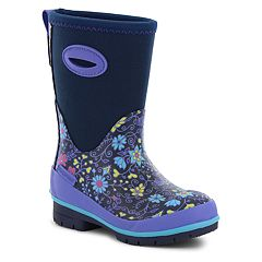Western Chief Floral Fun Girls' Waterproof Winter Boots