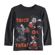 "Disney's Mickey Mouse Baby Boy Halloween ""Trick or Treat"" Softest Graphic Tee by Jumping Beans®"