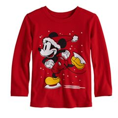 Disney's Mickey Mouse Baby Boy Ice Skating Softest Graphic Tee by Jumping Beans®
