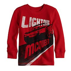 Disney / Pixar Cars Toddler Boy Lightning McQueen Thermal Top by Jumping Beans®