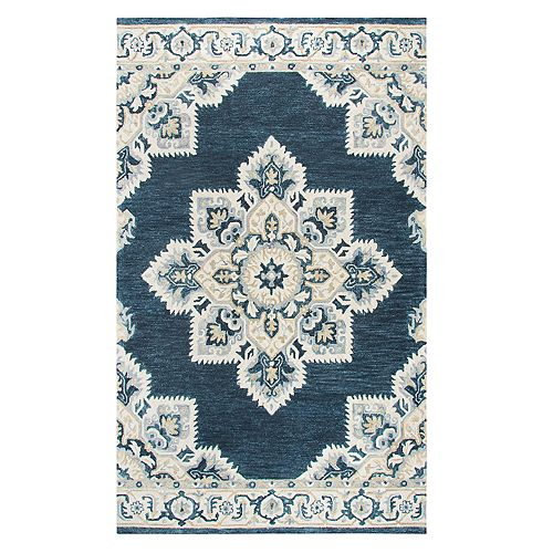Rizzy Home Alina Resonant Collection Medallion Rug