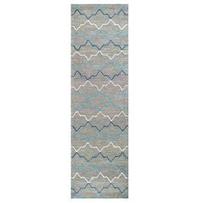 Rizzy Home Alana Resonant Collection Quatrefoil Geometric Rug