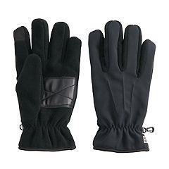 Men's Chaps Fleece Touchscreen Gloves