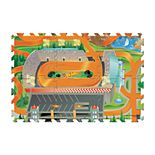 Hot Wheels 6-Piece Tile Mat by Mattel