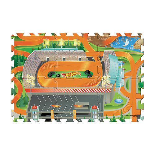 Hot Wheels 6-Piece Tile Mat by Mattel