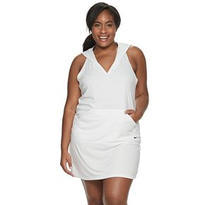 Plus Size Nike Solid Racerback Cover-Up