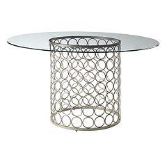 Carolina Living Tiffany Large Round Dining Table