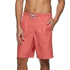 Men's Croft & Barrow® Solid Swim Trunks